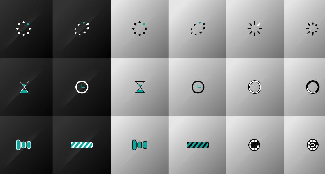 Ultimate Animated Loop Preloaders @ GraphicRiver.net