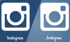 FREE New Instagram Vector Logo 2013 (new font)