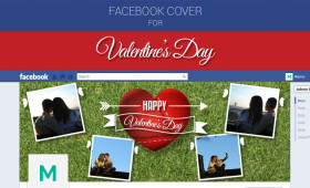 Facebook Cover for Valentine's Day