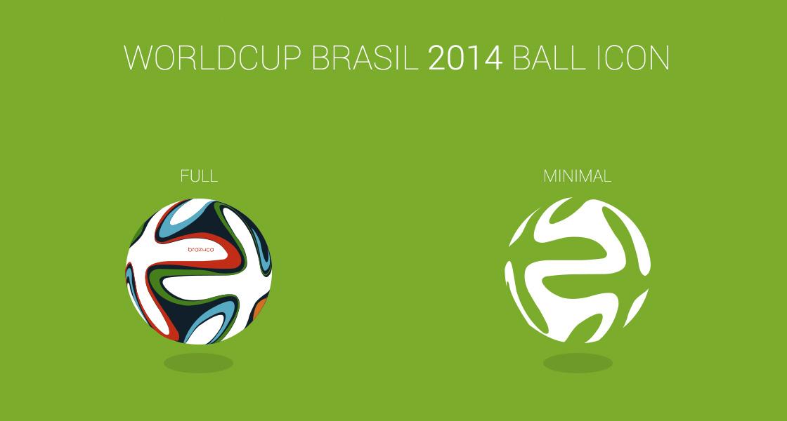 FREE WorldCup Brasil 2014 Ball Icon