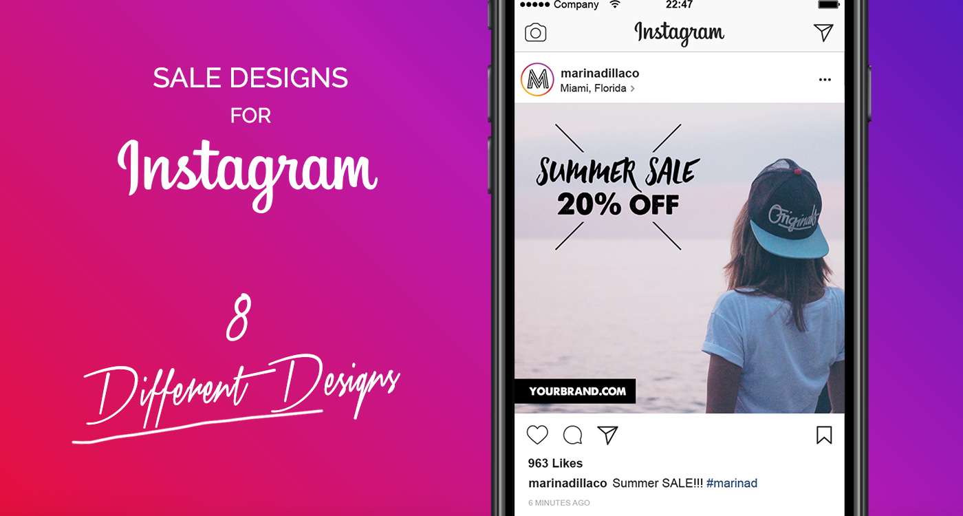 FREE Sale Designs for Instagram